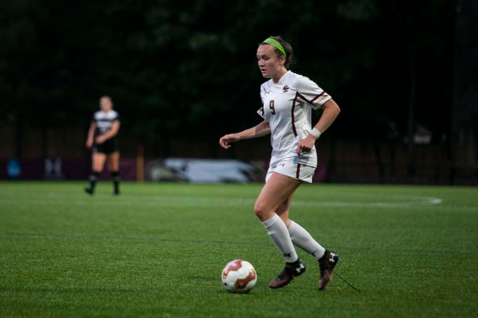 Eagles Score Late but Still Fall to Virginia