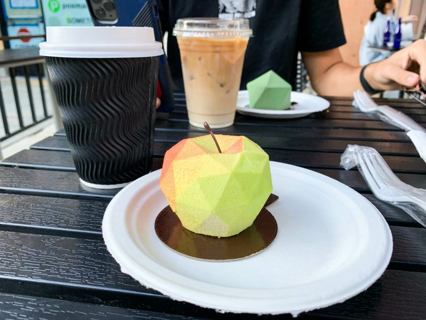 Geometry Meets Dessert at Jonquils Cafe and Bakery