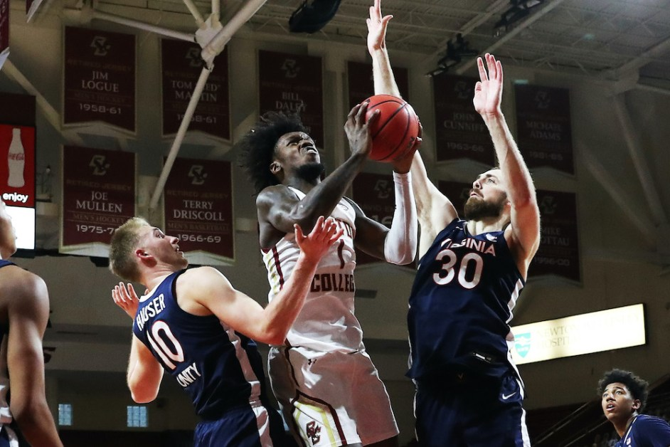 Eagles Hang Around but Falter in Second Half and Fall to Cavaliers