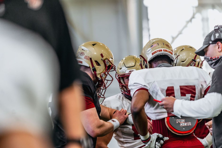 Eagles Build Off Experience In Lead Up To Spring Game