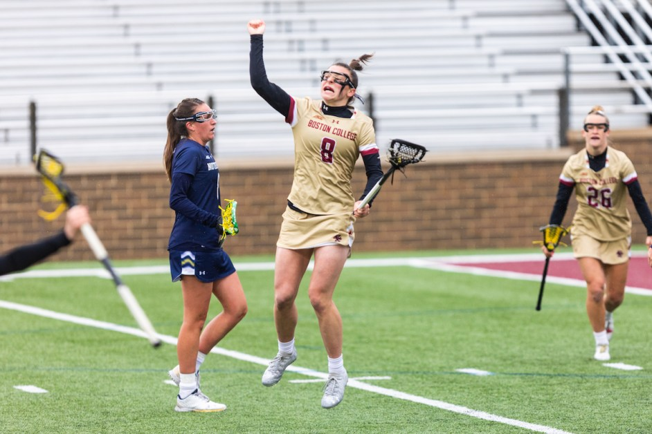 Urbank and North Shine in BC Sweep of Notre Dame