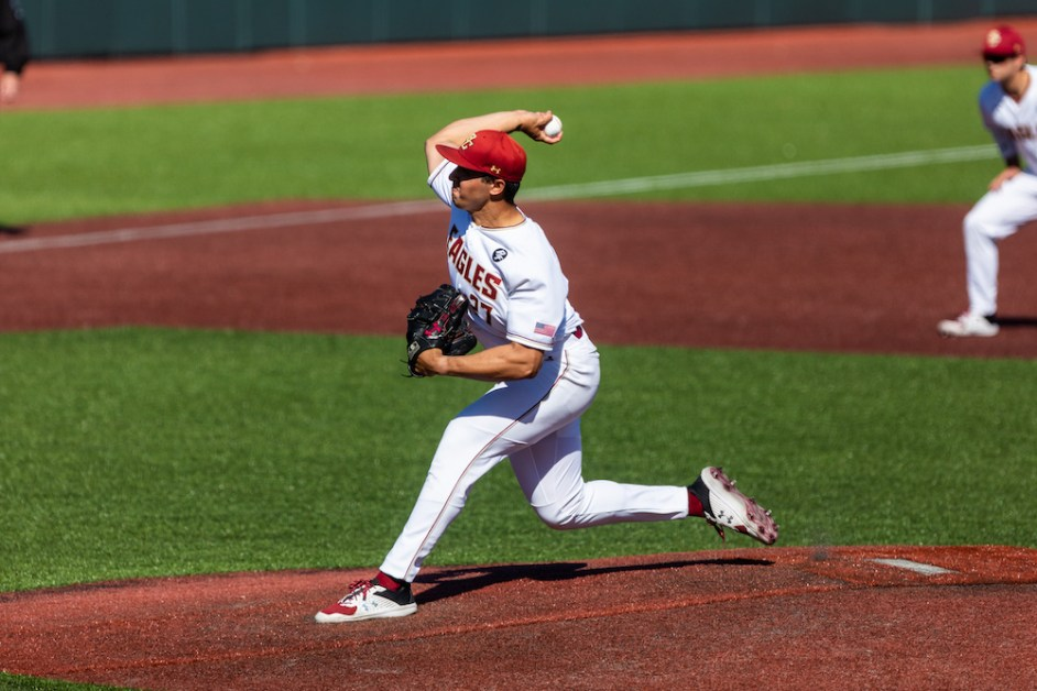 Late Rally Not Enough As Eagles Fall To Rhode Island
