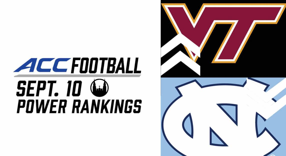 ACC Power Rankings Week One: The Bigger They Are, The Harder They Fall