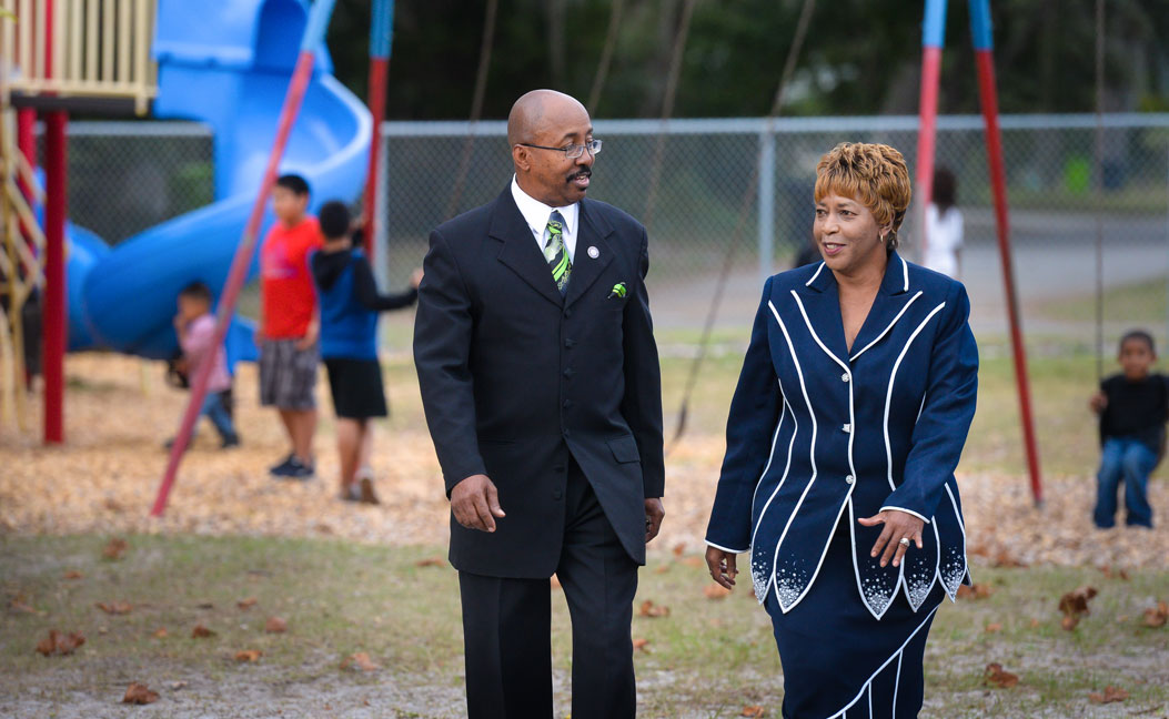 Bernard and Patricia Thompson