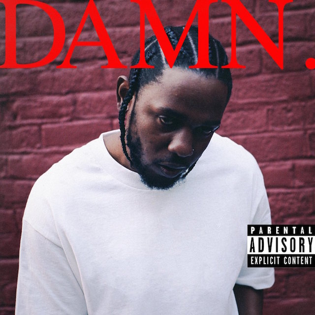 Kendrick Lamar DAMN album cover art