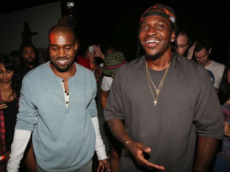 """Kanye West Reveals Release Date For Pusha T's """"King Push"""" Album"""