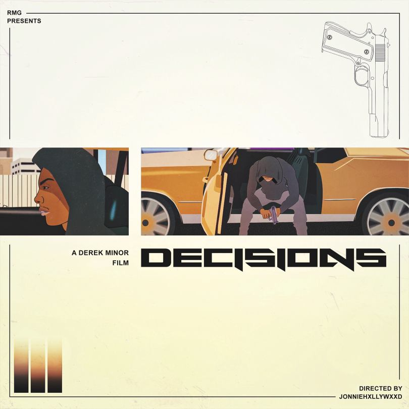 derek minor decisions artwork