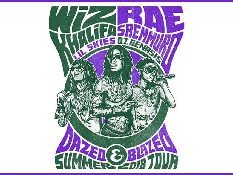 Wiz Khalifa & Rae Sremmurd Heading On Dazed & Blazed 2018 Summer Tour