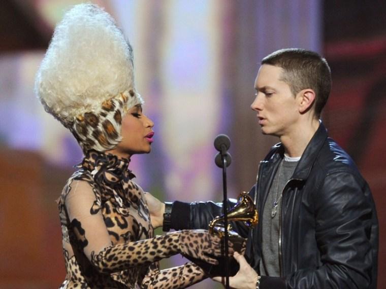 a858bf7d1 Eminem   Nicki Minaj Incite Relationship Rumors