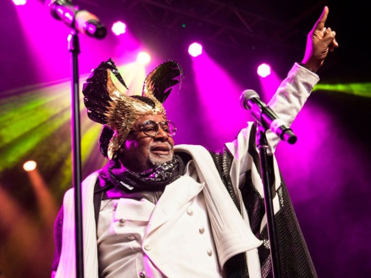 """George Clinton Is Retiring From Touring Because He """"Funked Too Hard"""""""