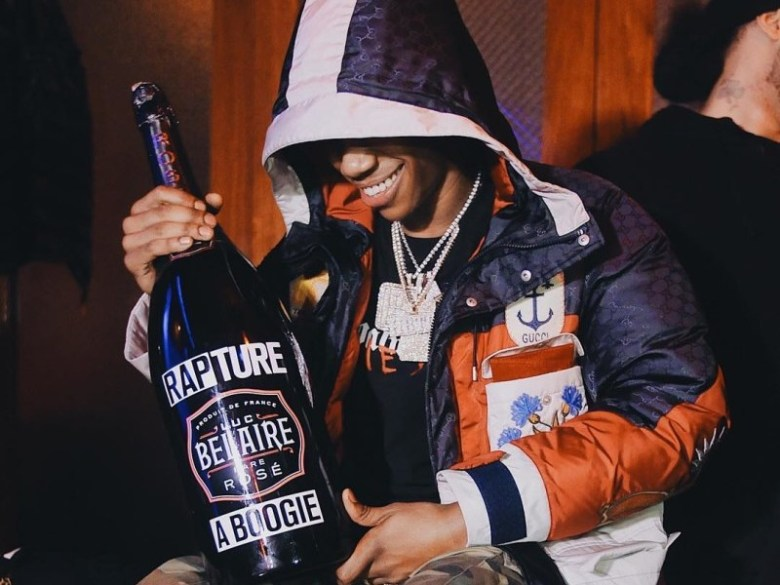 Nipsey Hussle, A Boogie Wit Da Hoodie, Rapsody, Trina & More Part Of Luc Belaire Icon Bottle Series