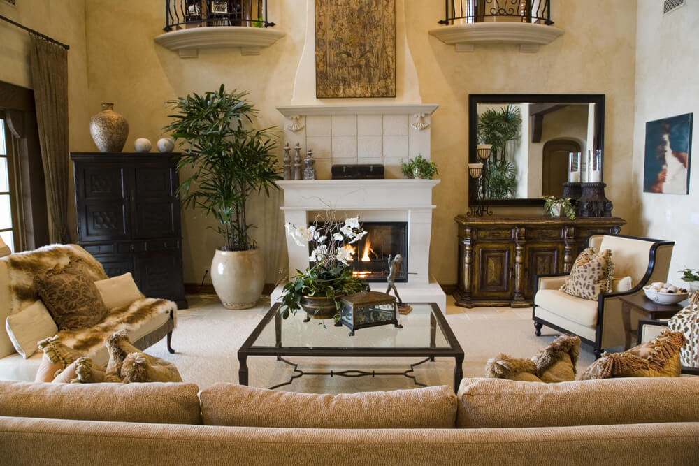 47 Beautifully Decorated Living Room Designs on Beautiful Room Pics  id=44251