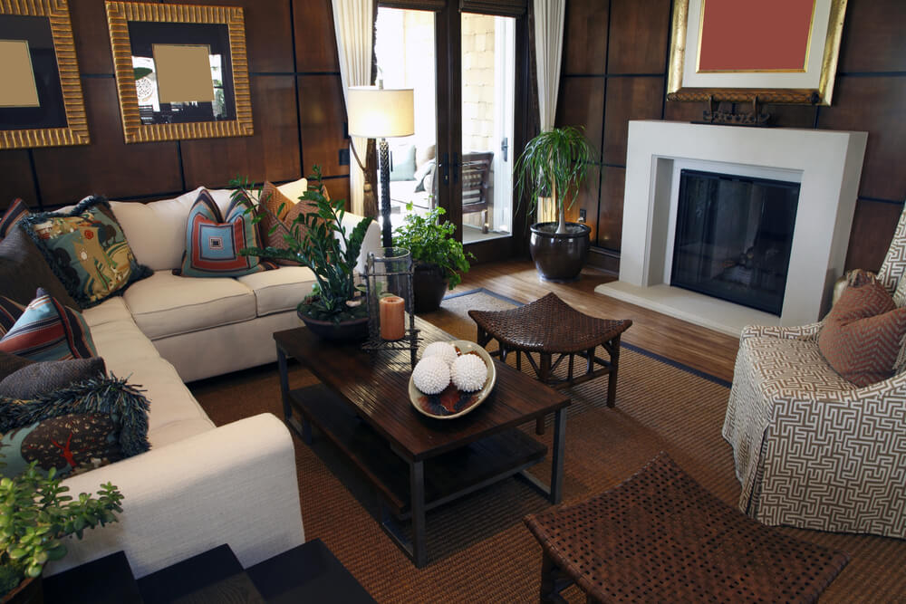Family Room Furniture Placement