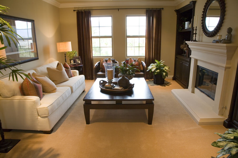 25 Cozy Living Room Tips and Ideas for Small and Big ... on Small Space Small Living Room With Fireplace  id=63269