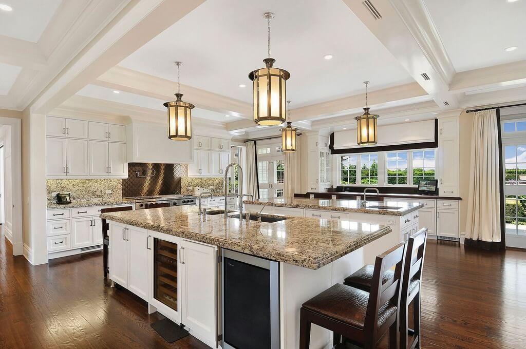 31 Custom Luxury Kitchen Designs (Some $100K Plus) on Luxury Farmhouse Kitchen  id=52220