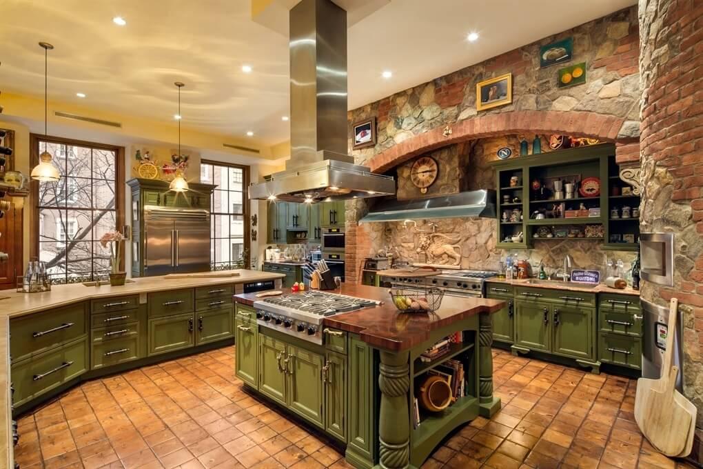 31 Custom Luxury Kitchen Designs (Some $100K Plus) on Luxury Farmhouse Kitchen  id=32800