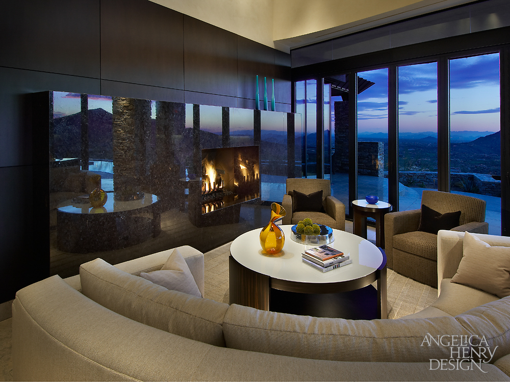Contemporary Desert Home Interior Design by Angelica Henry ... on Interior:ybeqvfpgwcq= Modern House  id=82719