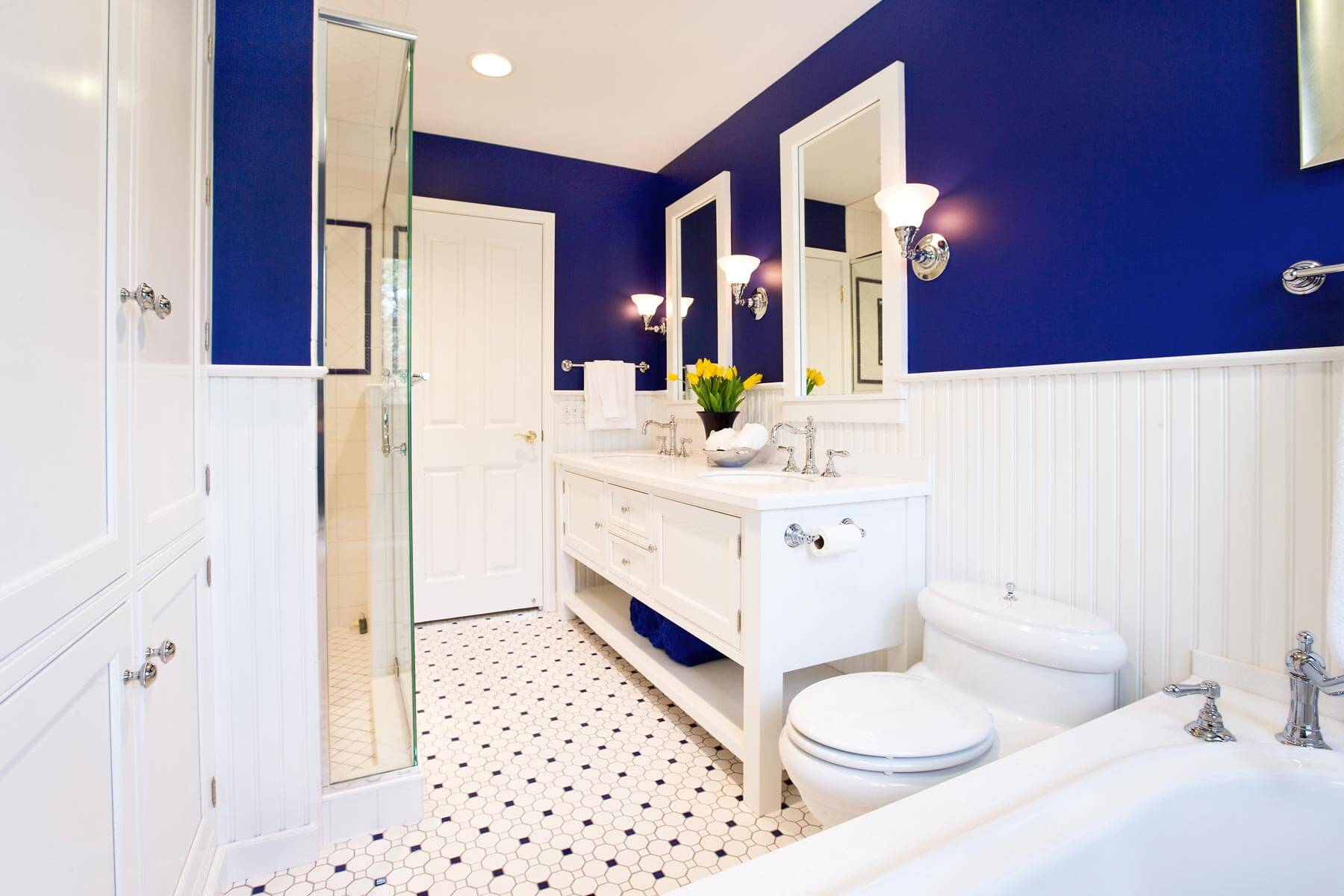 Small Master Bath With A Big Vision, By Drury Design on Small:e_D8Ihxdoce= Restroom Ideas  id=52798