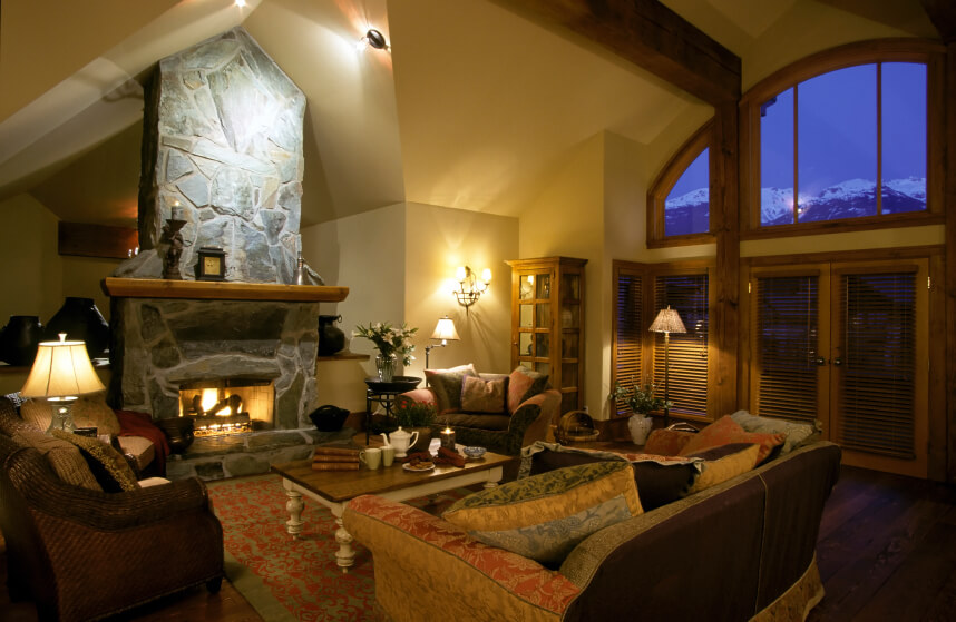41 Beautiful Living Rooms with Fireplaces of All Types on Beautiful Room Pics  id=26688