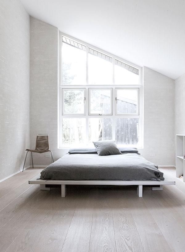 White Modern Minimalist Scandinavian Interior Design By NORM on Minimalist Modern Simple Bedroom Design  id=15746