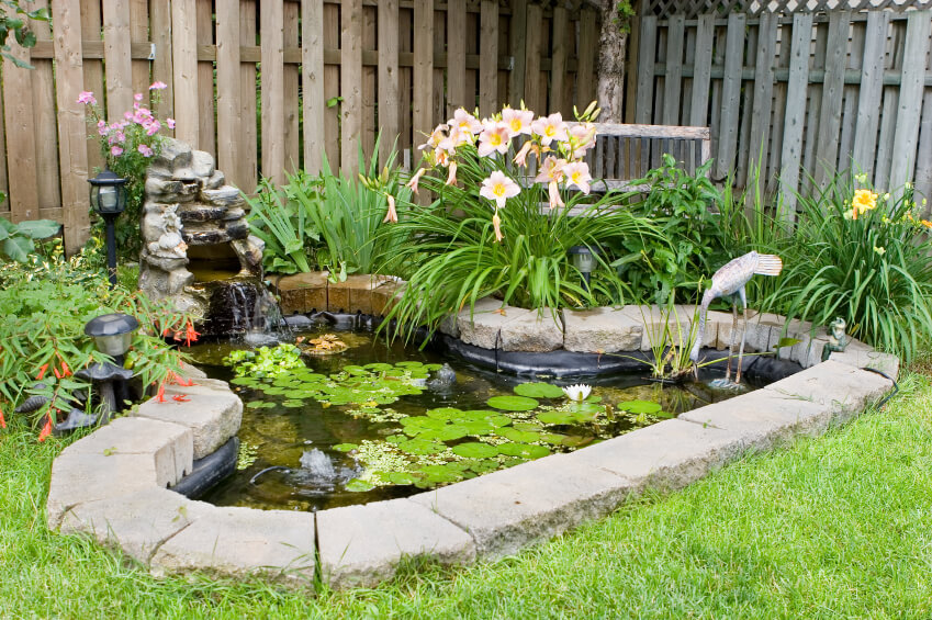 60 Backyard Pond Ideas (Photos) on Small Backyard Pond  id=59409