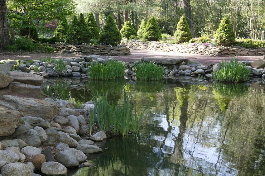 60 Backyard Pond Ideas (Photos) on Backyard Pond Landscaping Ideas id=17414