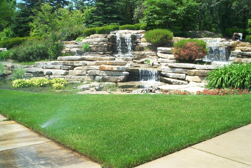 50 Pictures of Backyard Garden Waterfalls (Ideas & Designs) on Waterfall Ideas For Garden id=73724