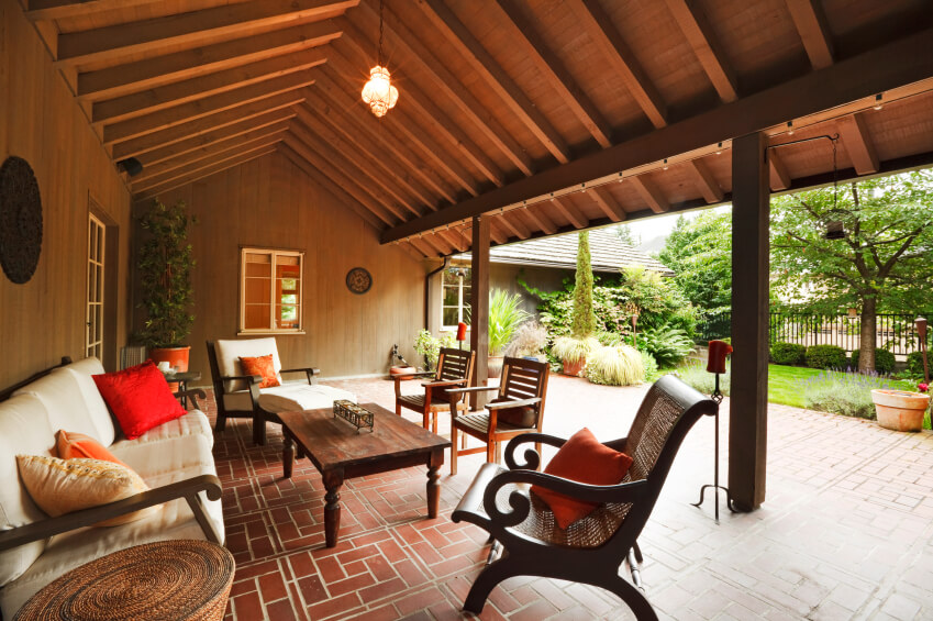 55 Luxurious Covered Patio Ideas (Pictures) on Covered Back Deck Designs id=20798