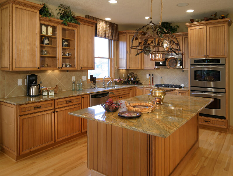 Would Granite Countertops Look Out Of Place With Our