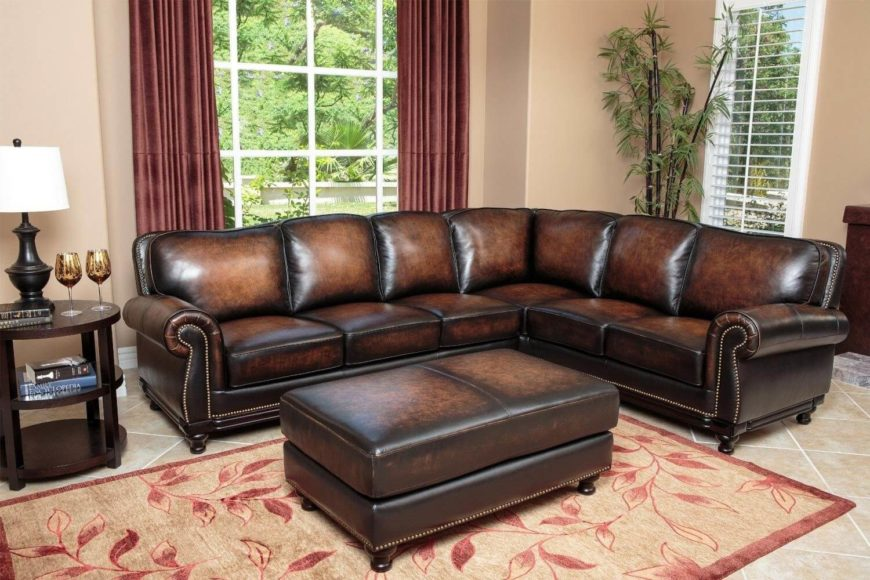 Ottoman Chaise Lounge Sectional Sofas And