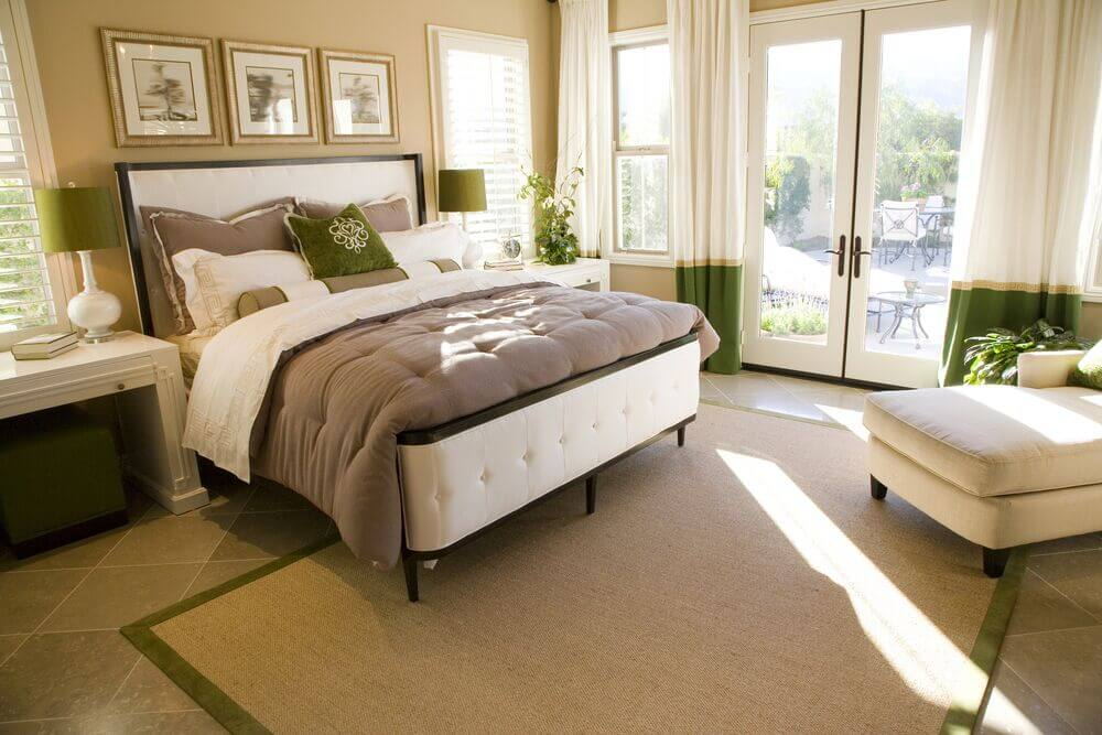 32 Exquisite Master Bedrooms With French Doors (PICTURES