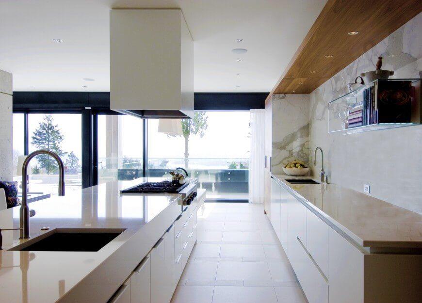Kitchen Floor Plans Two Islands