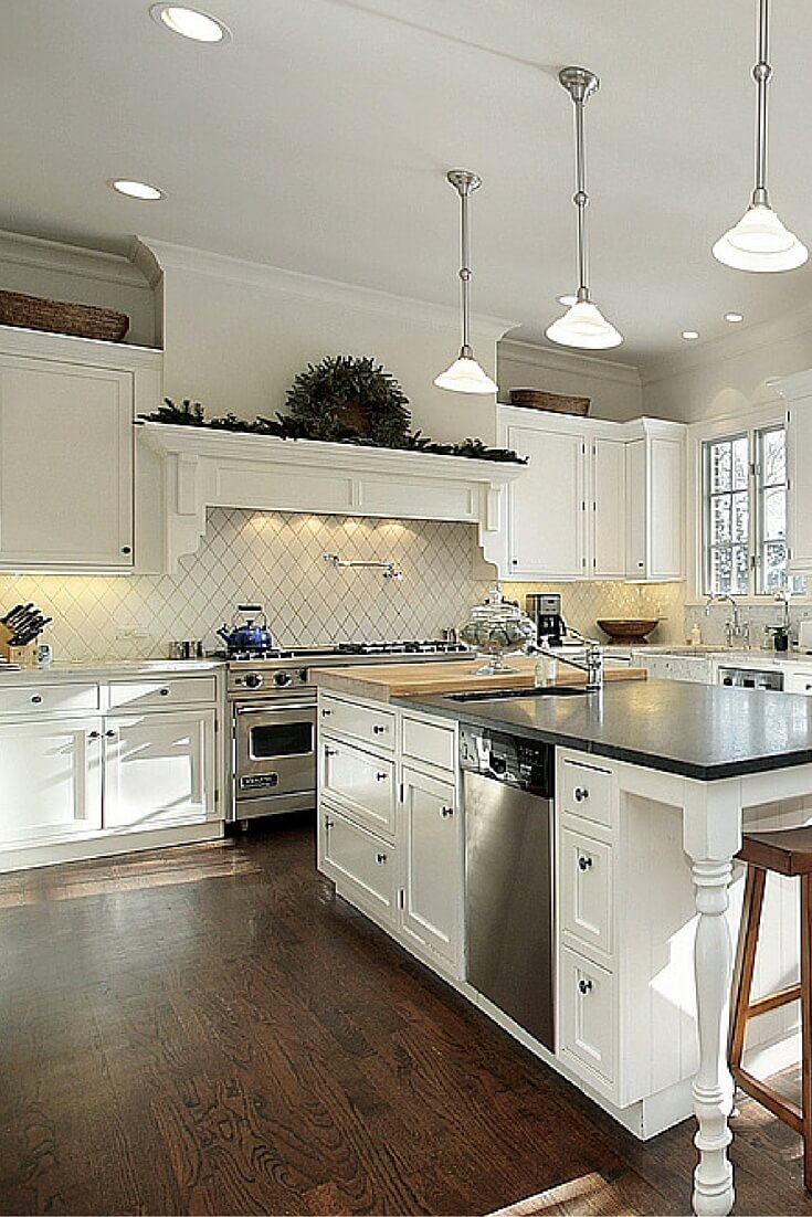 White White Kitchens Designs