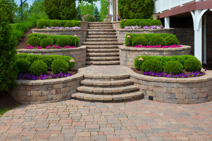 60 Outdoor Garden & Landscaping Step Ideas on Backyard Stairs Ideas id=49541