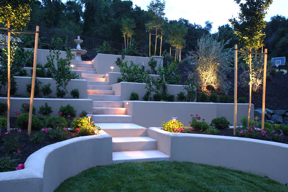 60 Outdoor Garden & Landscaping Step Ideas on Backyard Stairs Design id=76111