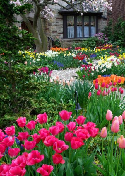 spring flower garden ideas 101 Front Yard Garden Ideas (Awesome PHOTOS)