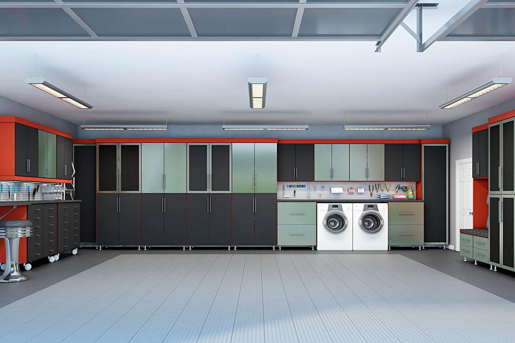 29 Garage Storage Ideas (Plus 3 Garage Man Caves) on Garage Colors Ideas  id=15301