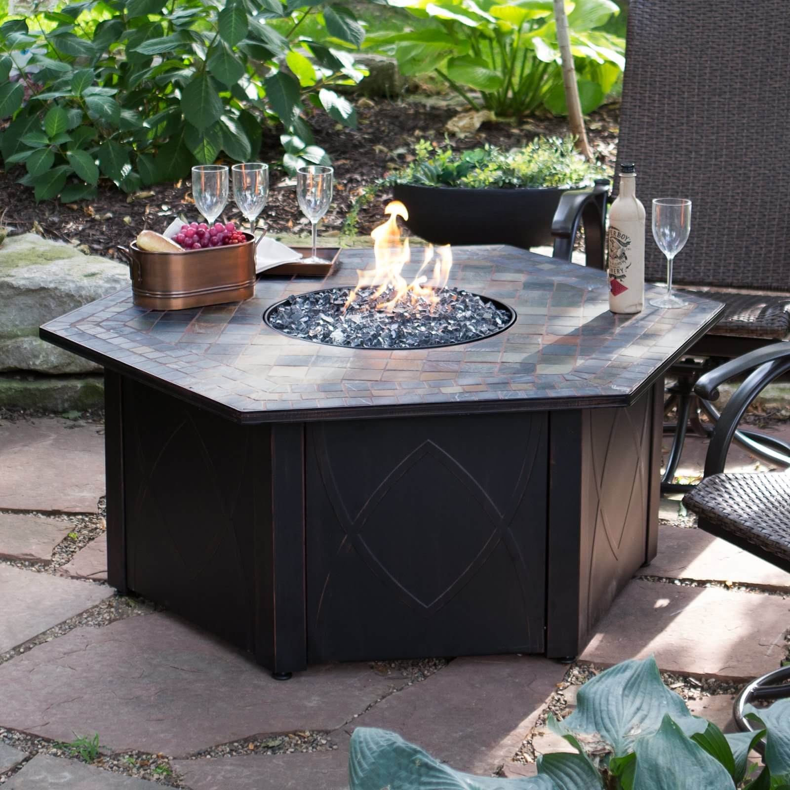 Top 15 Types Of Propane Patio Fire Pits With Table Buying Guide