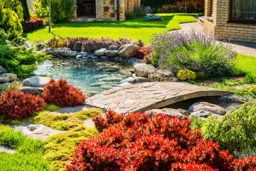 35 Backyard Pond Images (GREAT Landscaping Ideas) on Backyard Pond Landscaping Ideas  id=80498