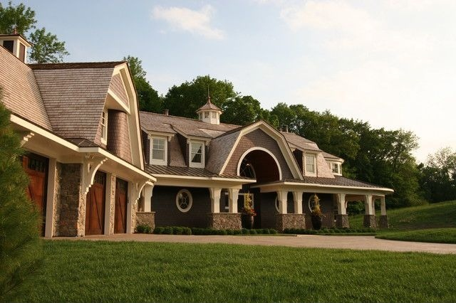 Image result for gambrel roof mansion