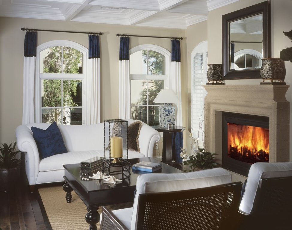 72 Living Rooms With White Furniture (Sofas And Chairs