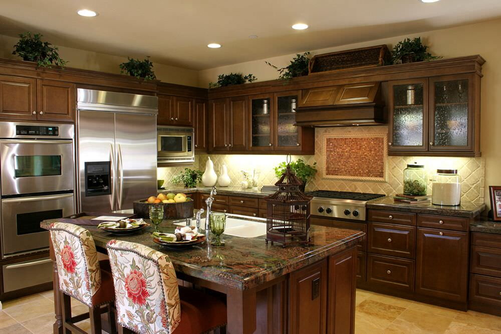 Kitchen Layout With Wall Oven Novocom Top