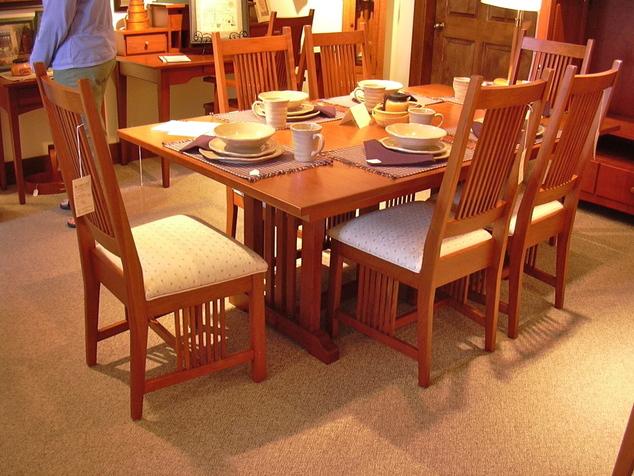 Shaker Mission Amp Craftsman Dining Room Furniture