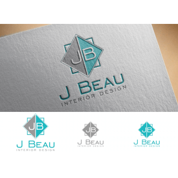 Logo Design Contests      Fun Logo Design for J Beau Interior Design     Best logo design by Juan Kata from Philippines