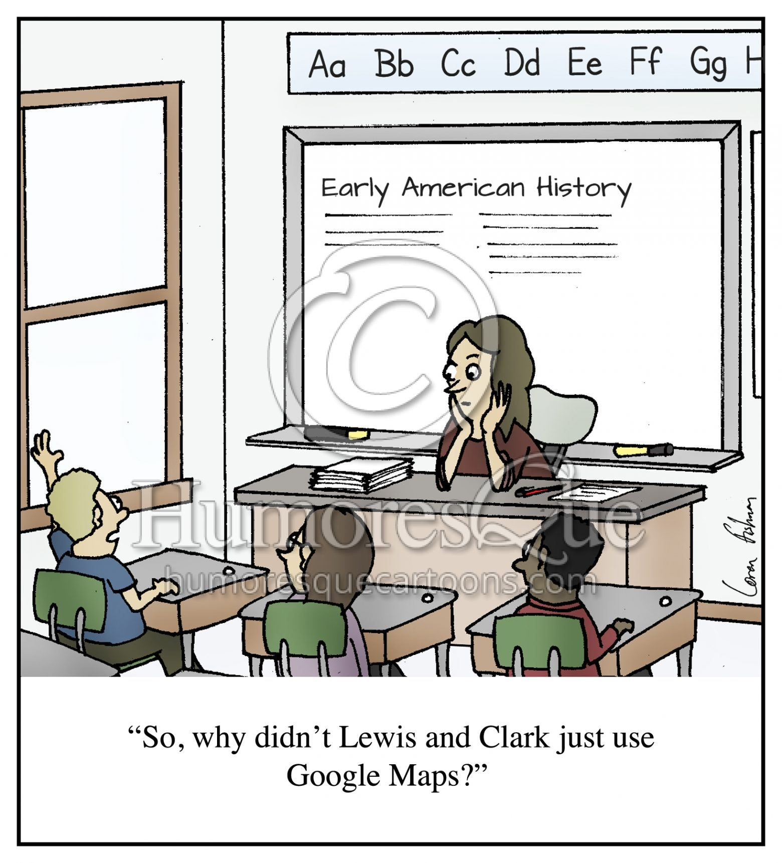 Cartoon Why Didn T Lewis And Clark Just Use Maps