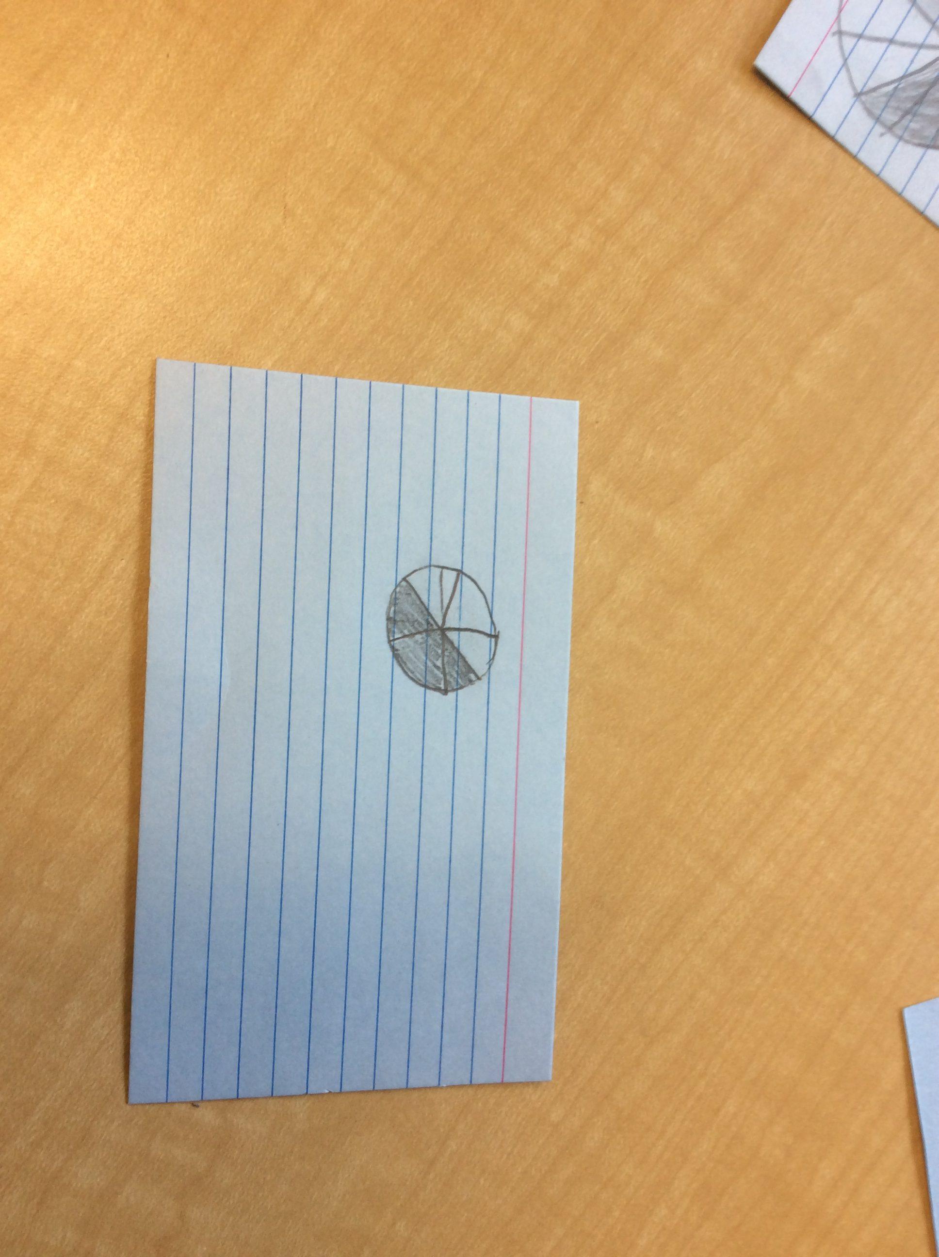 Fraction Cards And Decimal Squares Worksheets