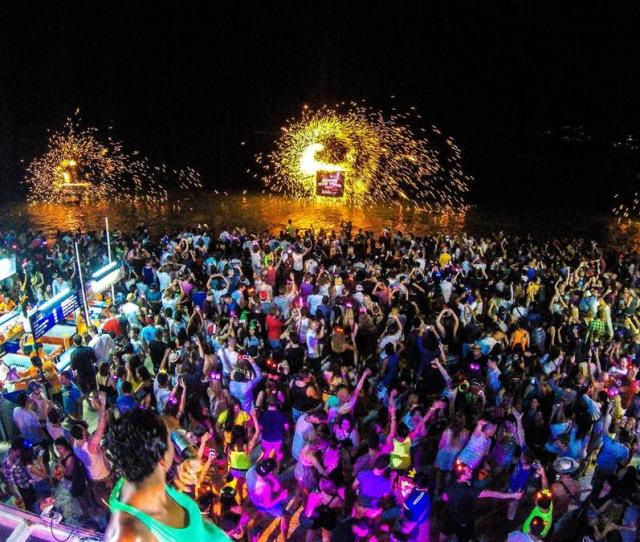 Full Moon Party New Years Eve Edition Thailand