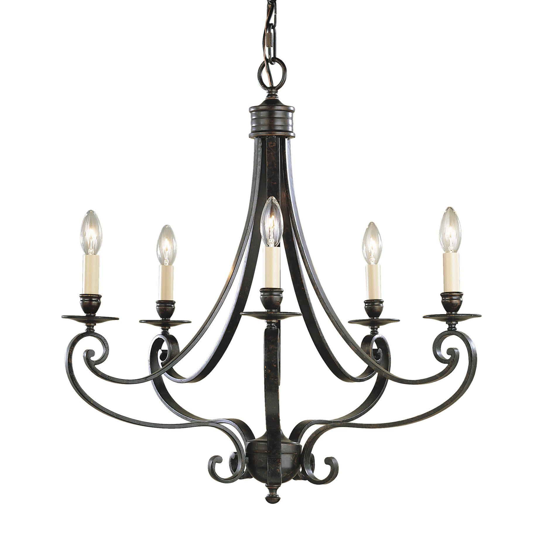 Murray Feiss F 5lbr Cervantes Transitional Chandelier