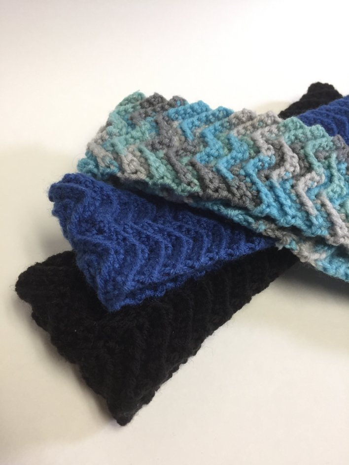 "Made-to-Order ""Waves"" Earwarmer 00010"