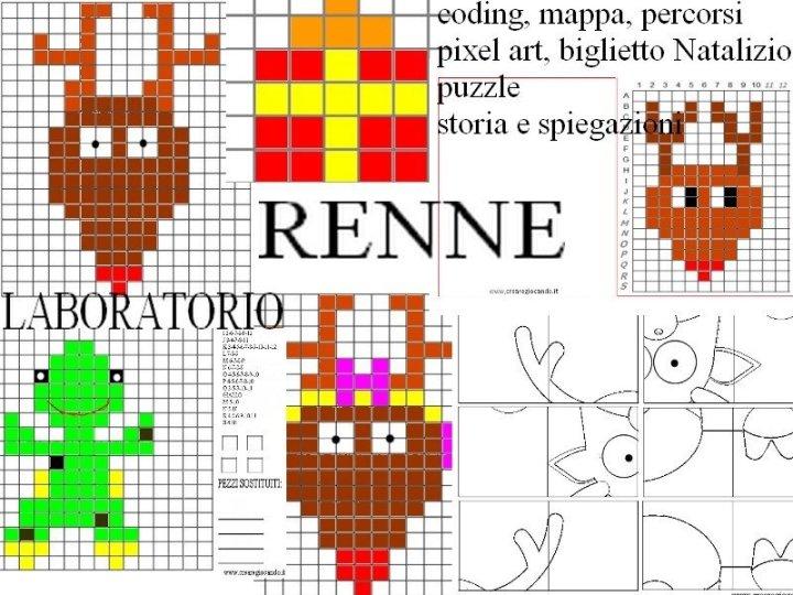 CODING, PIXEL ART, LABORATORIO LE RENNE DI BABBO NATALE, 15 PAGINE 00003